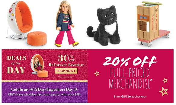 98a95b48c21 American Girl Sale Day 10 + 20% Off Coupon Code - MyLitter - One ...