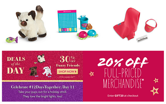 American girl discount coupons