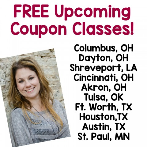 Coupon Classes FREE