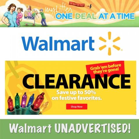 Walmart Unadvertised