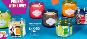 bbw 3 wick candle sale