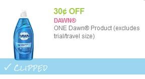 dawn soap coupon