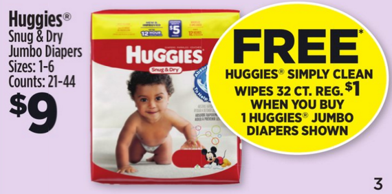 huggies dg deal