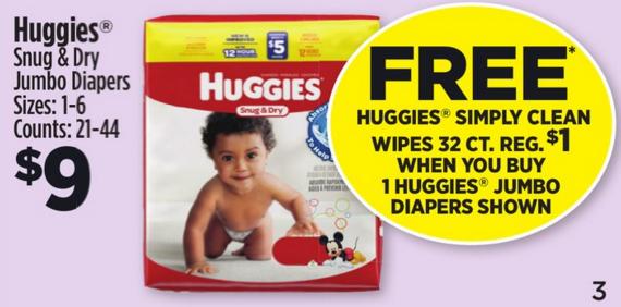 huggies dg deal