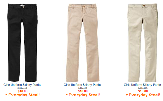 8d782bb59bda9 Old Navy Uniform Sale {Items start at $5.00} - MyLitter - One Deal ...