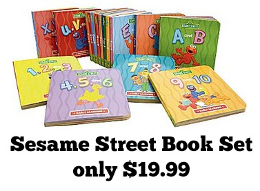 15766a2a4 Sesame Street Book 16pc Set only $19.99 - MyLitter - One Deal At A Time