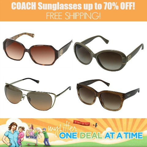 Coach Sunglasses up to 70% off