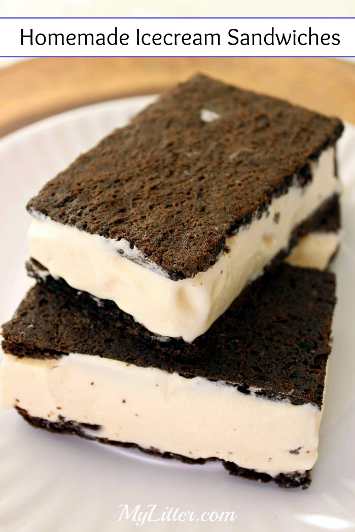 Homemade Icecream sandwiches