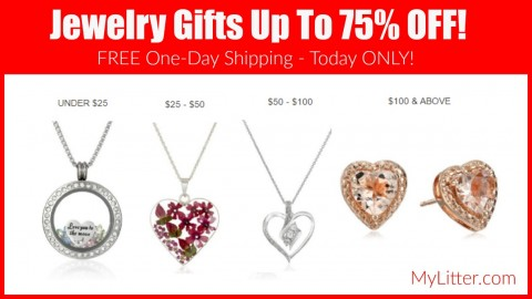 up to 75% jewelry gifts on amazon