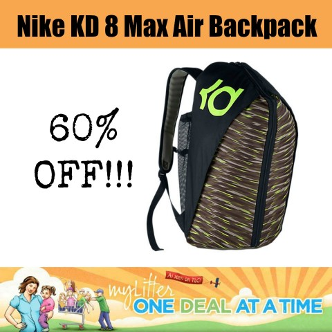 Nike KD 8 Max Air Backpack - 60% OFF! - MyLitter - One Deal At A Time 7019960f877e3