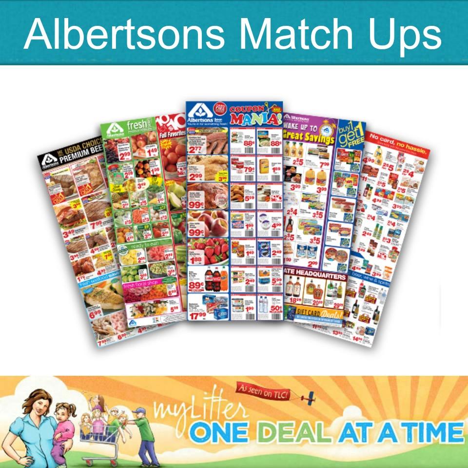 albertsons match ups
