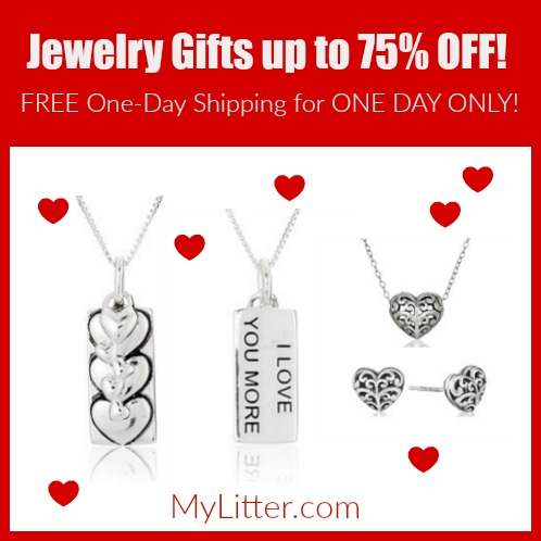 up to 75% off jewelry gifts on amazon