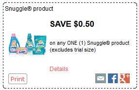 Buy All Detergent Get Snuggle FREE {Kroger Deal}
