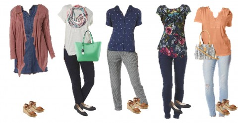 3.10 Mix and Match Fashion Board - Spring Kmart Styles 1-5