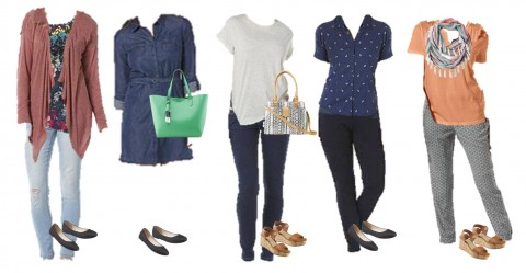 3.10 Mix and Match Fashion Board - Spring Kmart Styles 11-15