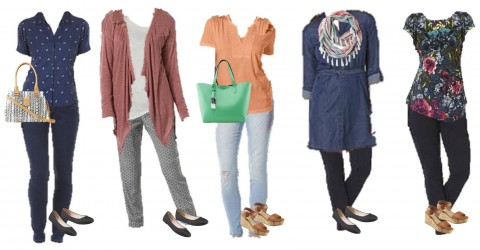 3.10 Mix and Match Fashion Board - Spring Kmart Styles 6-10
