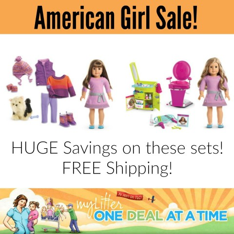 American Girl offers a nice sale section. Here you will find an everyday savings section, in addition to last chance sales, where you can save up to 70%. Use online coupon codes to get free shipping or to receive a percentage off.