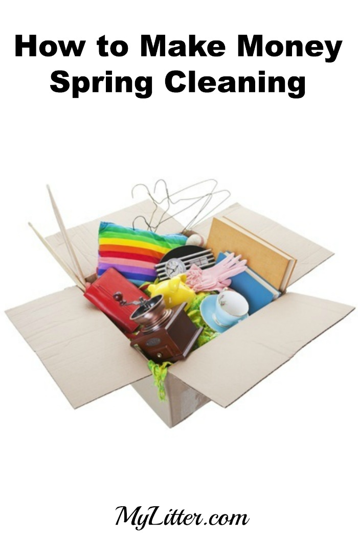 How to Make Money Spring Cleaning