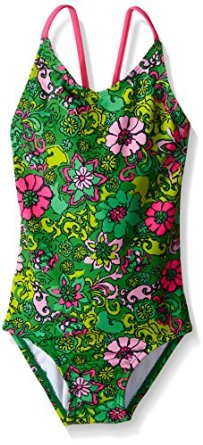 0ab4435f75 Kanu Surf Girls' Karlie Flower One Piece Swimsuit - MyLitter - One ...