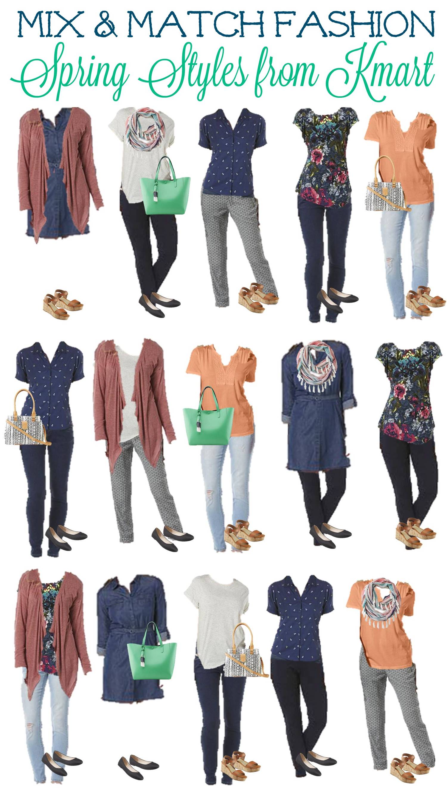 Mix and Match Fashion Spring Styles from Kmart