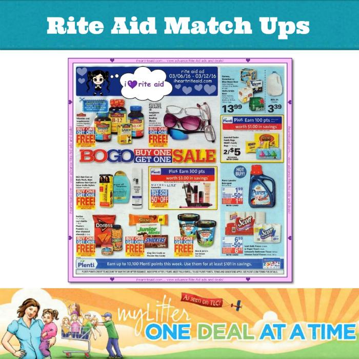 Rite Aid match ups