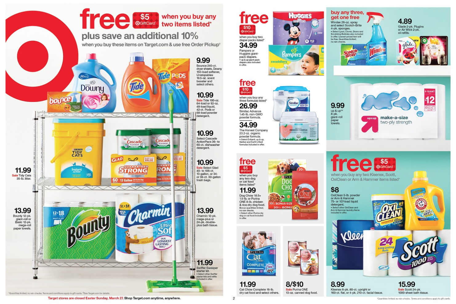 Free printable cleaning product coupons