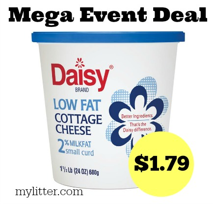 Daisy cottage cheese printable coupon 2018