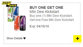 mtn dew coupon