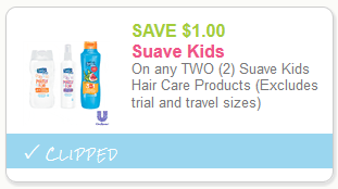 suave kids shampoo coupon