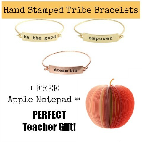 hand stamped tribe bracelets