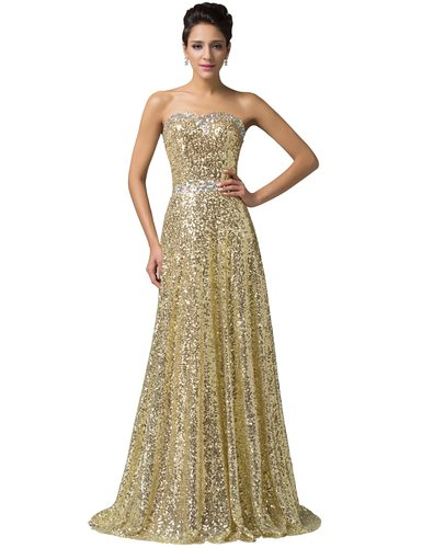 amazon gold dress