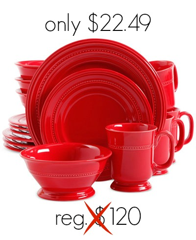 Make a statement at your next dinner party with this 16-piece Signature Living Adele Dinnerware Set. Right now you can pick it up at Macys.com for $22.49!  sc 1 st  MyLitter & Macyu0027s: 16-Piece Signature Living Dinnerware Set only $22.49 ...