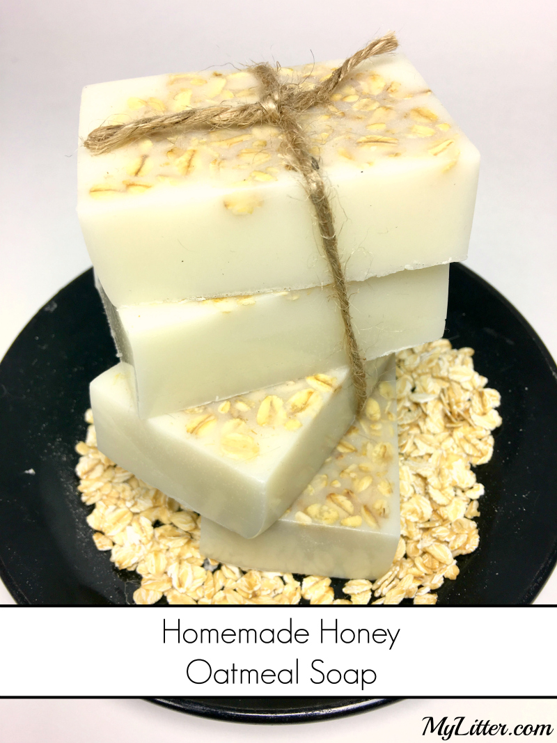 Homemade Honey Oatmeal Soap - MyLitter - One Deal At A Time