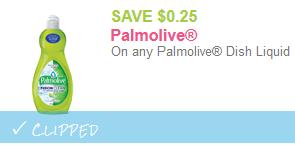 palmolive dish soap coupon