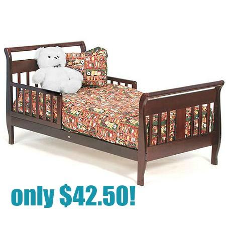 Walmart Storkcraft Soom Soom Toddler Bed Only 4299