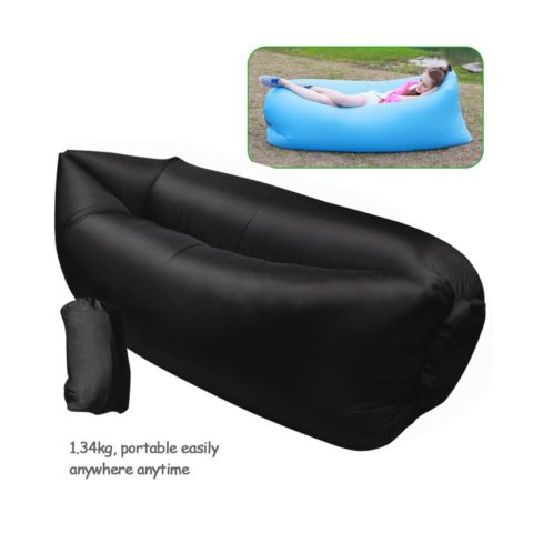 Amazon inflatable outdoor lounger mylitter one deal for Couch you can sleep on