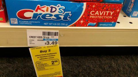 CVS Kids Crest