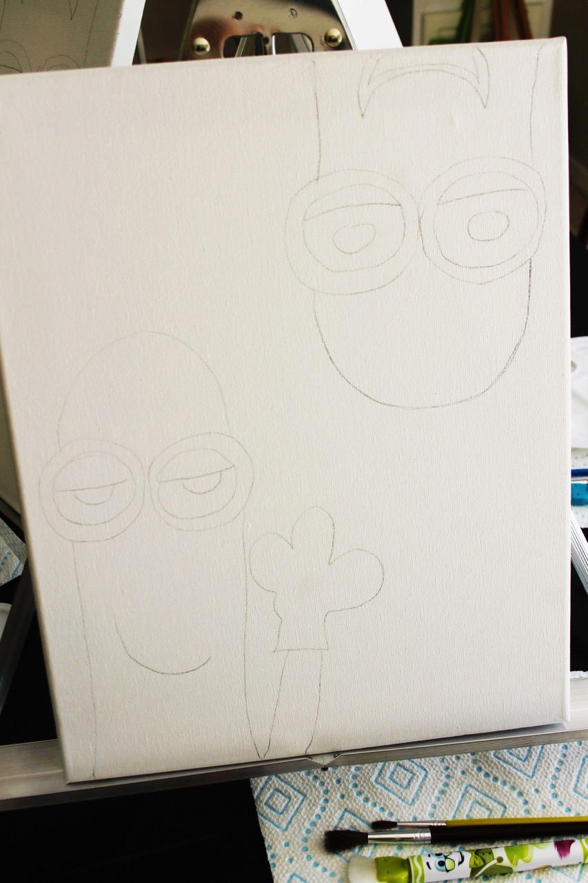 Minions Canvas