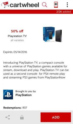 PlayStation TV CW