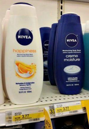 Target Nivea Body Wash