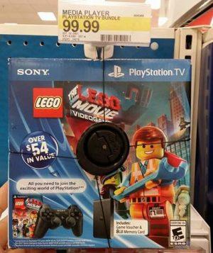 Target Playstation TV bundle