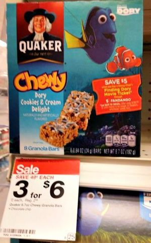 Target Quaker Chewy