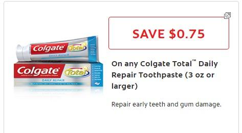 colgate total coupon