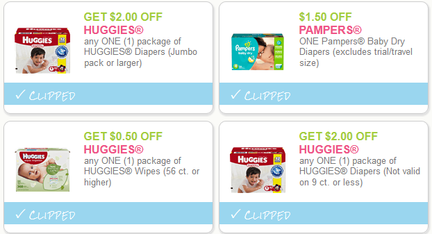 cvs diaper deal coupons