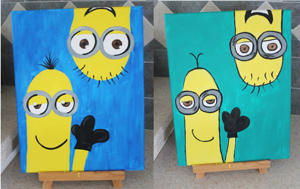 minions canvases
