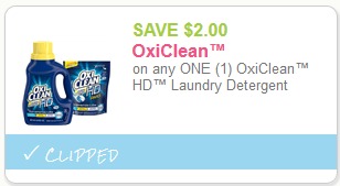 oxiclean hd coupon