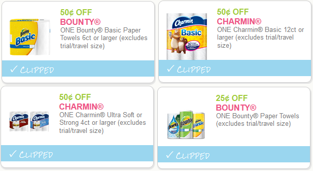 paper product coupons