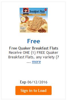 quaker freebie