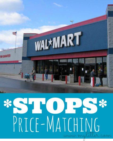 walmart stops price matching