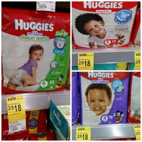 Huggies Walgreens
